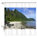 american samoa Shower Curtain