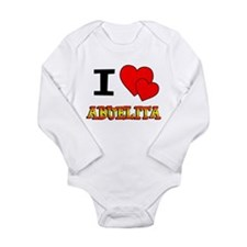 I Love Abuelita Long Sleeve Infant Bodysuit