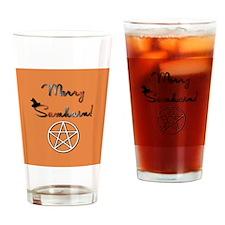 Merry Samhain Drinking Glass