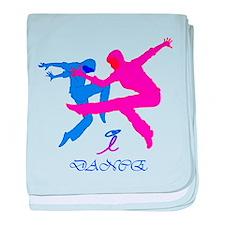 Dance, idance, baby blanket