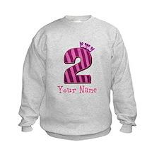 Custom 2nd Birthday Sweatshirt