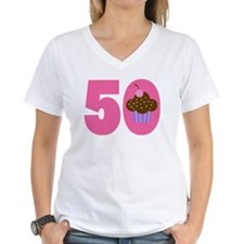 50th Birthday Cupcake Shirt
