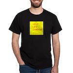 HELP LIFE CHANGE Dark T-Shirt