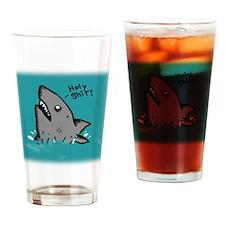 Holy Shark Drinking Glass