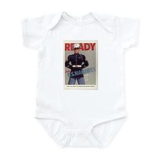 READY JOIN U.S. MARINES Infant Creeper