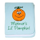Mormors Little Pumpkin baby blanket