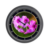 Orchid Splendor Wall Clock