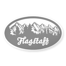 Flagstaff AZ Mountain Decal