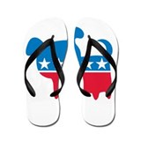 THE DOG PARTY Flip Flops