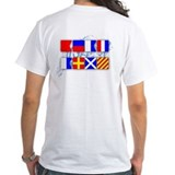 Beat Army Signal Flags Shirt