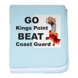 BEAT COAST GUARD baby blanket