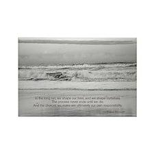 Eleanor Roosevelt Quote Rectangle Magnet