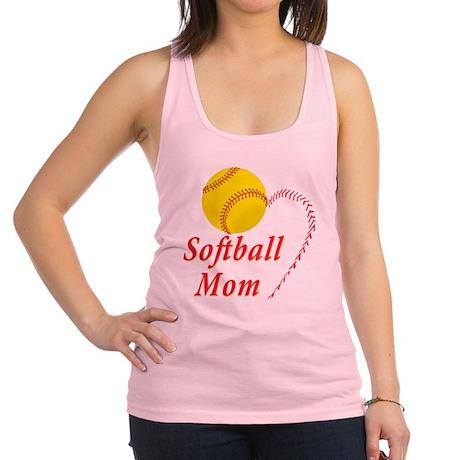 Softball mom Racerback Tank Top