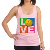 Girls softball Racerback Tank Top