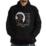 Black Lab Mom Hoody