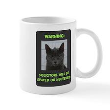 No Solicitations Small Mug