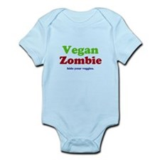 Vegan Zombie Infant Bodysuit
