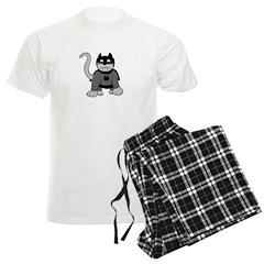 Hero Cat Men's Light Pajamas