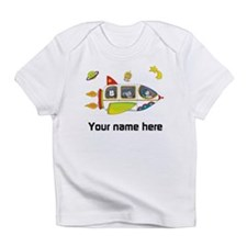 Personalized Space Baby T-Shirt