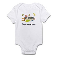 Personalized Space Baby Bodysuit