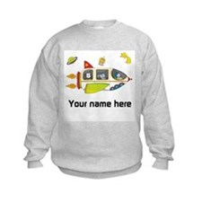 Personalized Space Sweatshirt