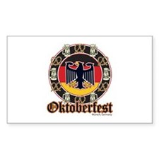 Oktoberfest Beer and Pretzels Decal