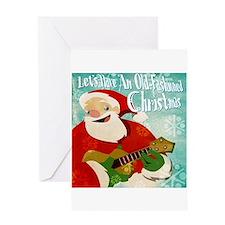 Ukulele Christmas Greeting Card (blank inside)