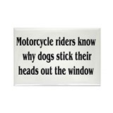 Cute Motorcycles Rectangle Magnet