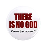 "There is no God 3.5"" Button"
