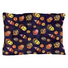 Faces Pillow Case