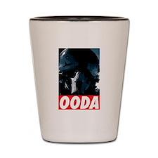 OODA Blue w/Red Shot Glass