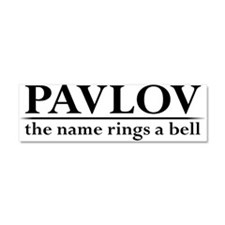 Pavlov Rings Bells Car Magnet 10 x 3
