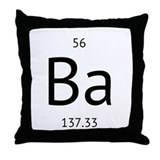 barium Throw Pillow