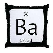 barium Throw Pillow