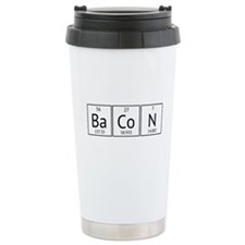 BaCoN Periodic Element Ceramic Travel Mug