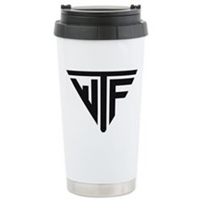 WTF Ceramic Travel Mug