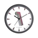 Glamor Brooch 1 Wall Clock