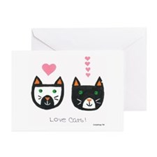 Love Cats Greeting Cards (Pk of 10)