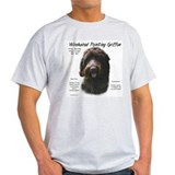 Wirehaired Pointing Griffon Ash Grey T-Shirt