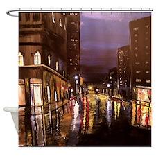 Modern Down Town Shower Curtain