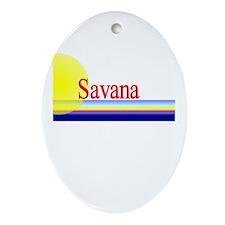 Savana Oval Ornament