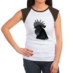 Ayam Ceymani Rooster Women's Cap Sleeve T-Shirt
