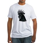 Ayam Ceymani Rooster Fitted T-Shirt