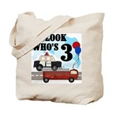 Everyday Heroes 3rd Birthday Tote Bag
