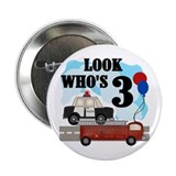 Everyday Heroes 3rd Birthday Button