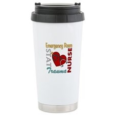 ER Nurse Ceramic Travel Mug