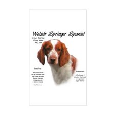 Welsh Springer Spaniel Rectangle Decal