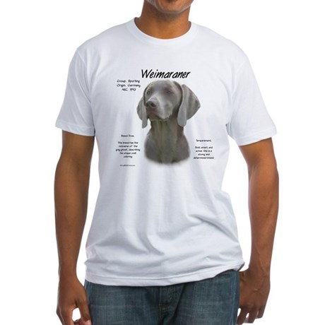 Weimaraner  Fitted T-Shirt