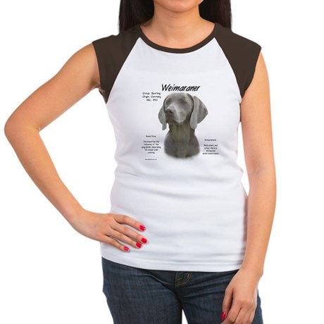 Weimaraner  Women's Cap Sleeve T-Shirt
