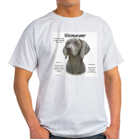 Weimaraner  Ash Grey T-Shirt